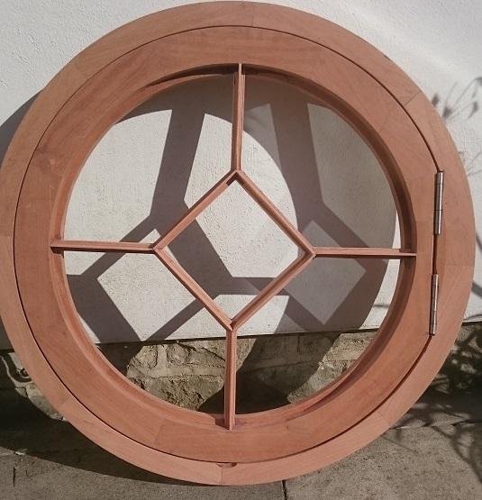 The Round Window Company Round Wooden Windows Hardwood